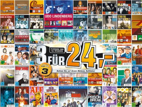 TV-Serien und CD-Boxen ©Saturn