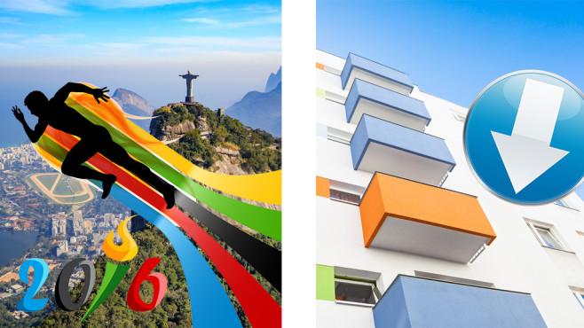 Ob Brasilien oder Balkonien: Gratis-Tools f�r den perfekten Urlaub Die Olympischen Sommerspiele 2016 finden in Brasilien statt. Der beliebte Urlaubsort steht im Interesse zahlreicher Touristen. Wollen Sie dorthin, braucht es die nachfolgenden Downloads. ©HeGraDe-Fotolia.com, Tiberius Gracchus-Fotolia.co, f11photo-Fotolia.com
