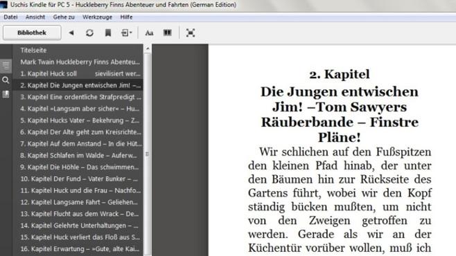 Kindle für PC: Digitale Bücher lesen ©COMPUTER BILD