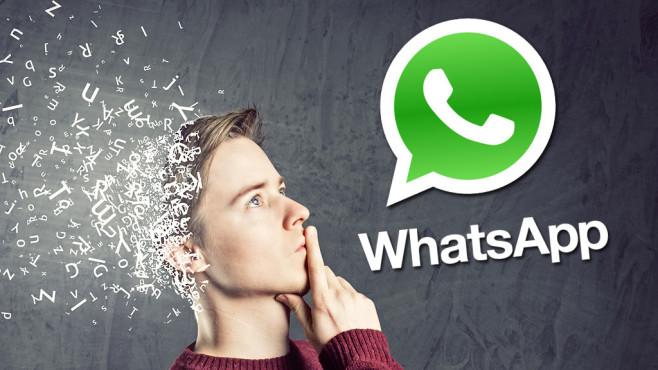 WhatsApp für den PC: Statusinfos absetzen ©WhatsApp