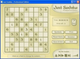 Screenshot 2 - Just Sudoku Professional Edition