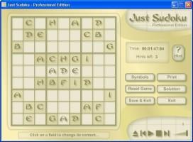 Screenshot 3 - Just Sudoku Professional Edition