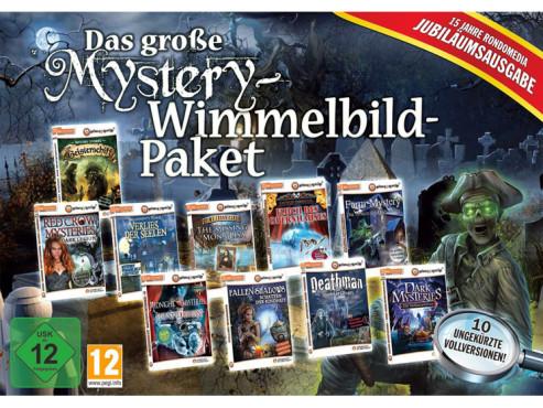 Das große Mystery-Wimmelbild-Paket Jubiläumsausgabe ©rondomedia