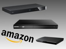 Die besten Blu-ray-Player für unter 100 Euro ©Amazon, Sony, Samsung, LG