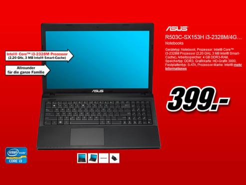 Asus R503C-SX153H ©Media Markt
