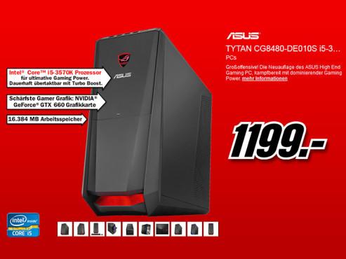 Asus Tytan CG8480-DE010S ©Media Markt