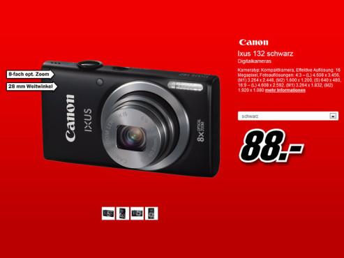 Canon Ixus 132 ©Media Markt