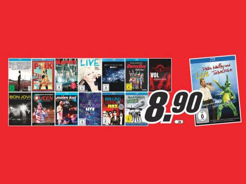Musik-Blu-rays ©Media Markt