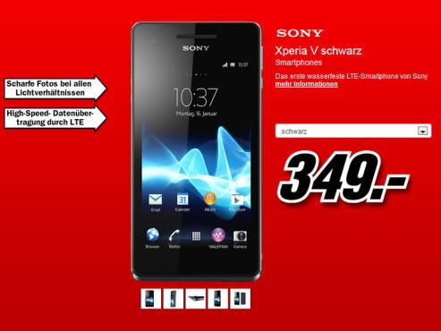 Sony Xperia V ©Media Markt