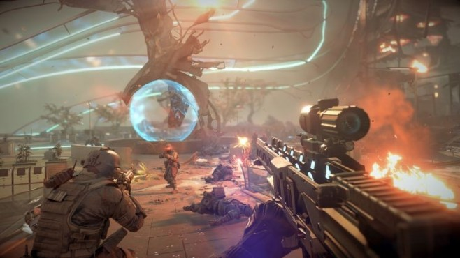 Actionspiel Killzone – Shadow Fall: Visier © Sony
