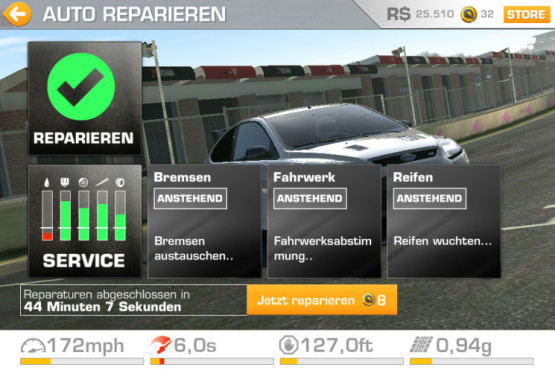 Real Racing 3: Update sorgt f�r Shitstorm © EA