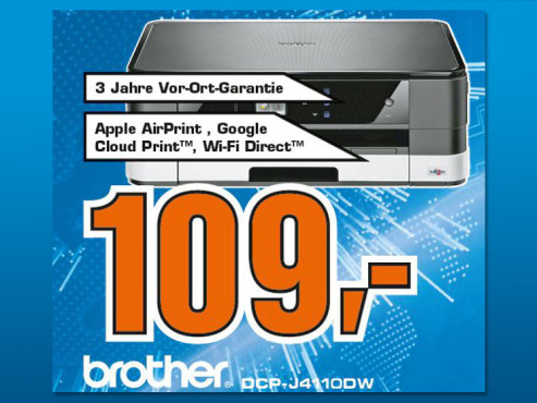 Brother DCP-J4110DW © Saturn