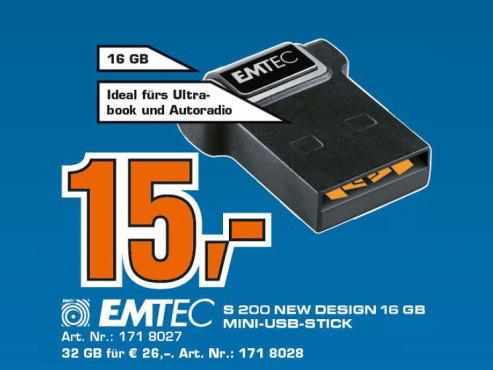 Emtec Flash Drive S200 16GB ©Satrun