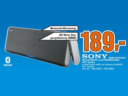 Sony SRS-BTX300 ©COMPUTER BILD