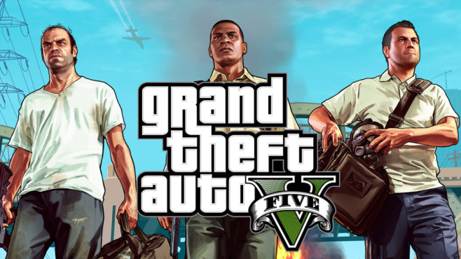Grand Theft Auto 5: Logo © Rockstar Games