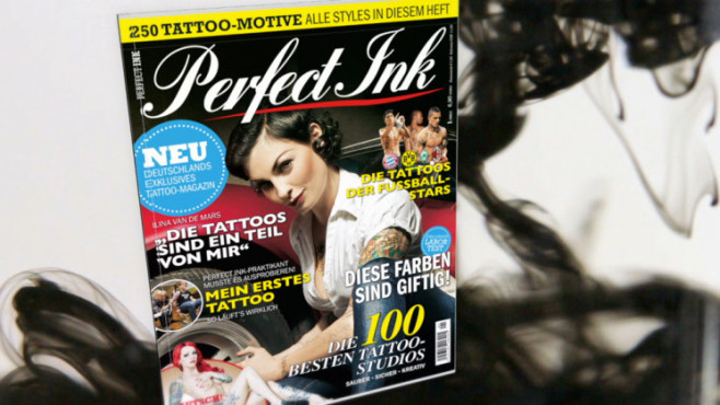 Perfect Ink: Exklusives Tattoo-Magazin © COMPUTER BILD