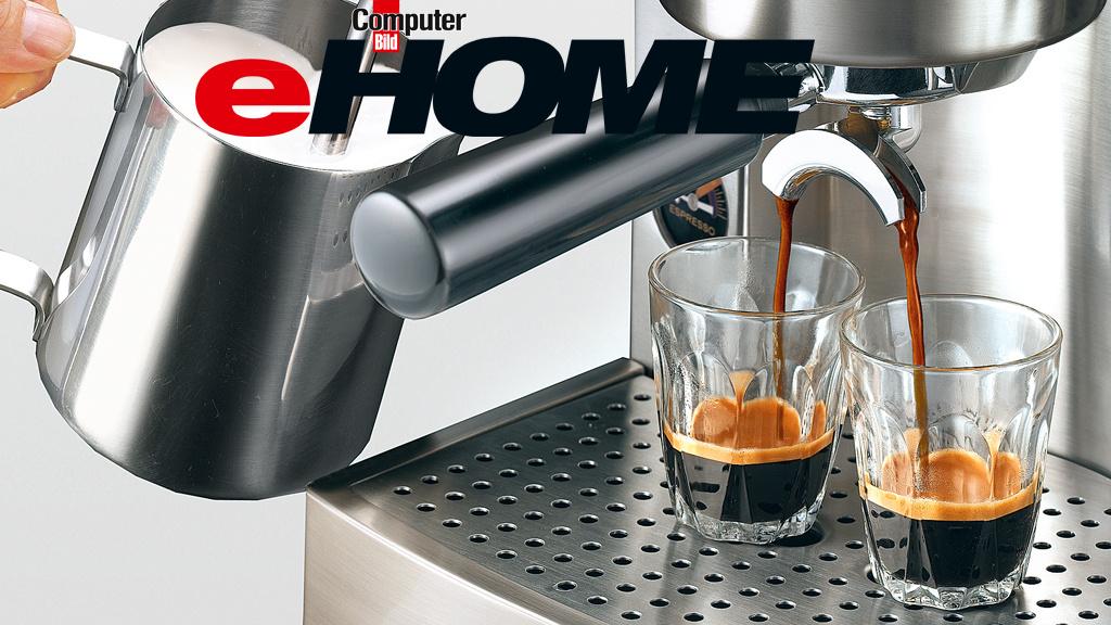 kaffeevollautomat test kaffeemaschinen im vergleich computer bild. Black Bedroom Furniture Sets. Home Design Ideas