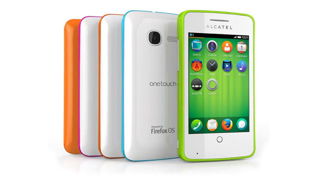 Smartphone Alcatel One Touch mit Firefox OS © Alcatel