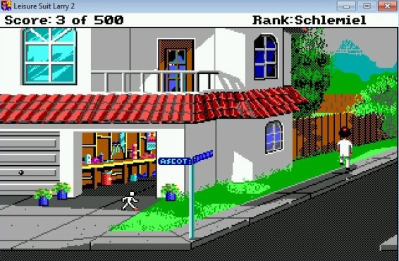 Leisure Suit Larry 2 � Goes Looking for Love (In Several Wrong Places) ©Classic Gaming