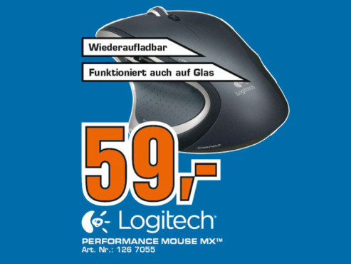 Logitech Performance Mouse MX © Saturn