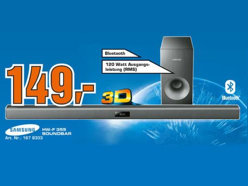 Samsung HW-F355 ©Saturn