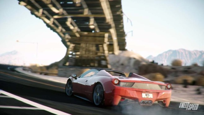 Rennspiel Need for Speed – Rivals: Brücke © Electronic Arts