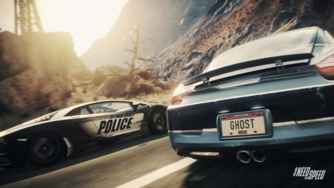 Rennspiel Need for Speed – Rivals: Ghost © Electronic Arts