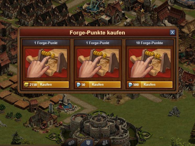 punkte forge of empire