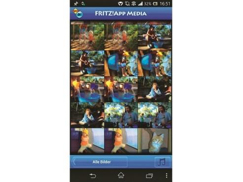 Apps für Fritz:Fritz App Media ©COMPUTER BILD