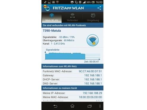 Apps für Fritz: Fritz App WLAN ©COMPUTER BILD