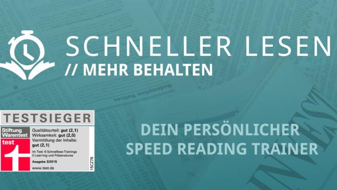 Schneller Lesen ©Heku IT