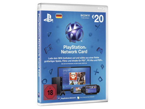Playstation Network Card (20 Euro) © Sony