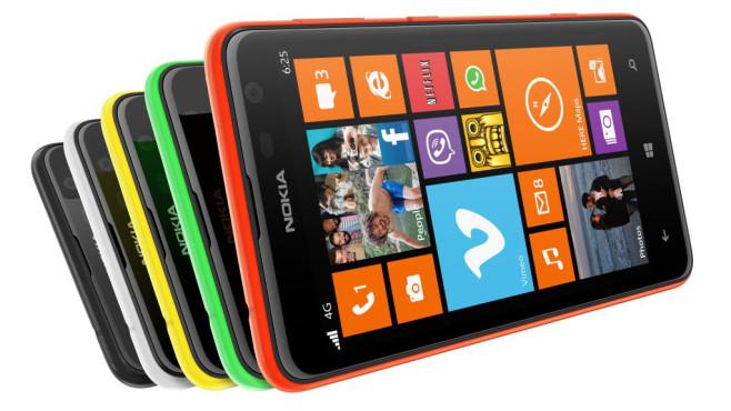 Nokia Lumia 625 ©Microsoft