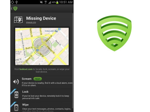 Lookout – Free Backup, Security, Find My Device © Lookout Mobile Security