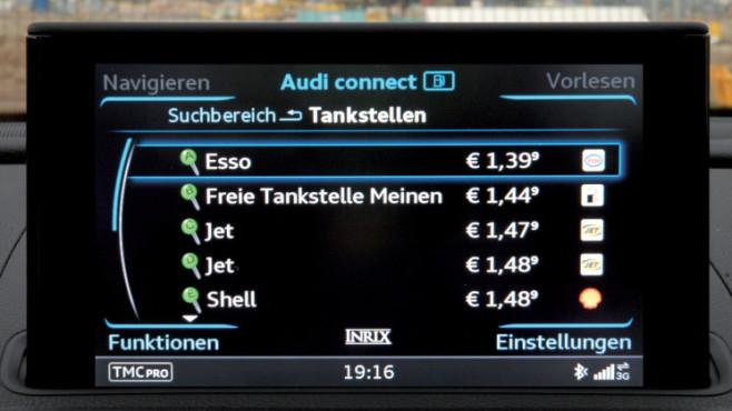 Audi Tanken ©COMPUTER BILD / Audi