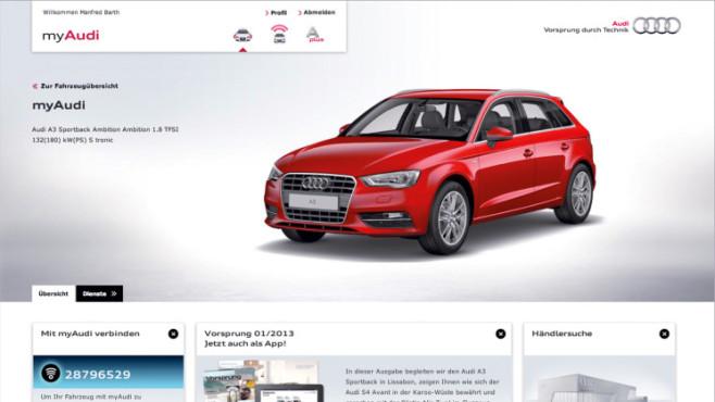 Audi Webseite ©COMPUTER BILD / Audi