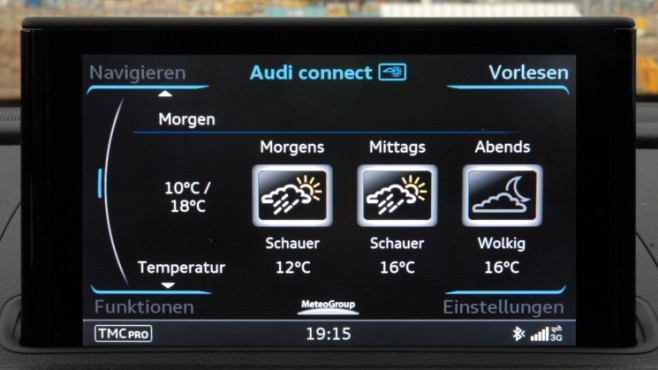 Audi Wetter ©COMPUTER BILD / Audi