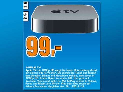 Apple TV (3. Generation) ©Saturn