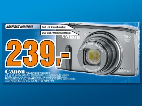 Canon PowerShot SX270 HS ©Saturn