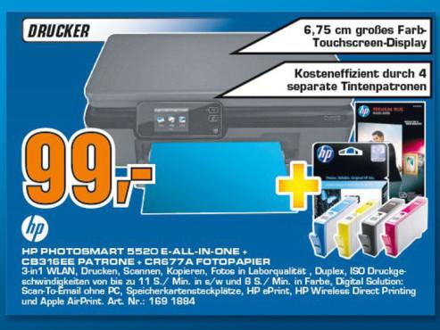 Hewlett-Packard HP Photosmart 5520 ©Saturn