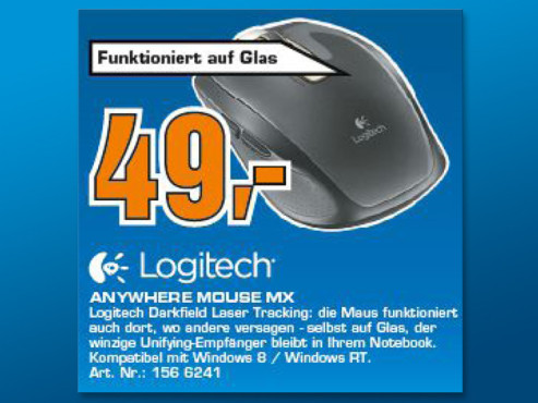 Logitech Anywhere Mouse MX ©Saturn