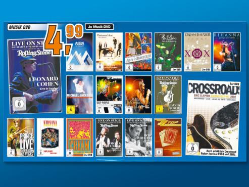 Musik-DVDs ©Saturn