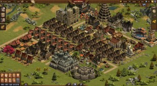Forge of Empires: Stadt nach sechsmonatiger Spielzeit ©InnoGames