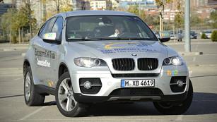 eCall-Testwagen von BMW ©EU