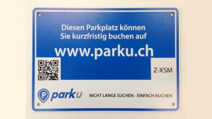 Parku-Parkschild ©Parku