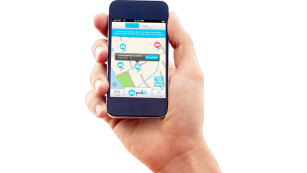 Smartphone-App von Park it ©Park it
