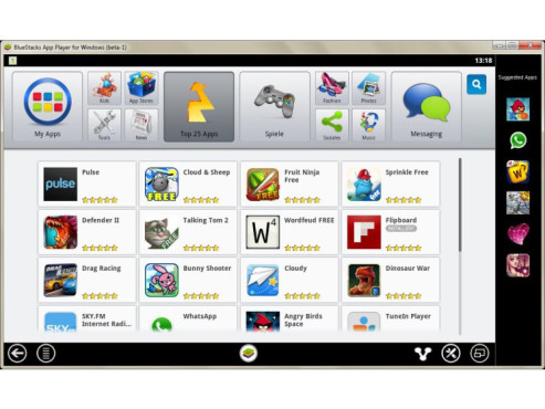 BlueStacks App Player © COMPUTER BILD