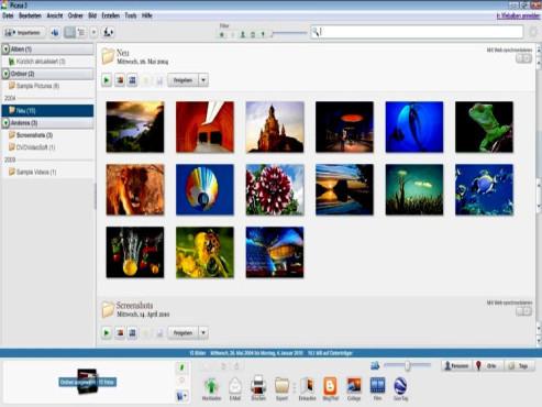 Picasa 3.8 ©Picasa / Google