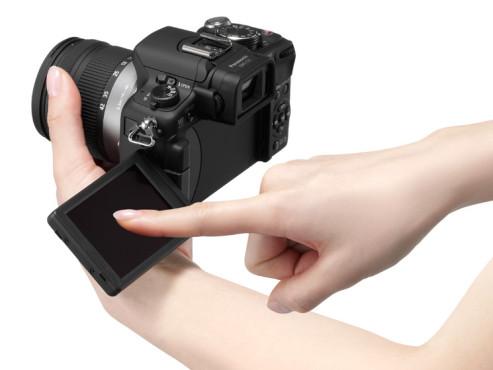 Touchscreen Panasonic Lumix DMC-G2 ©Panasonic