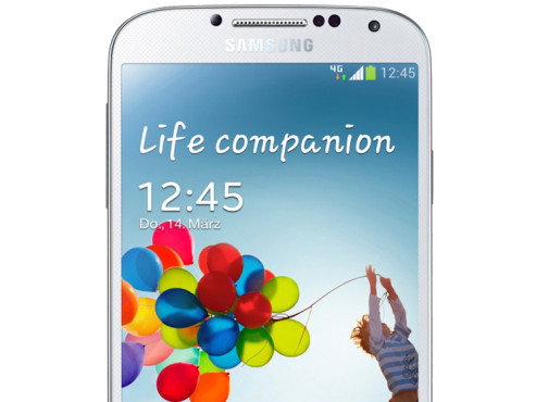 Samsung Galaxy S4 – Full-HD-Bildschirm © Samsung